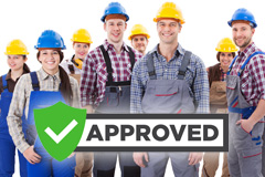 find local approved Powys trades